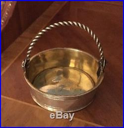 Silver Salt Cellar 1814 Moscow Sotheby's Russian Hallmarked Antique Dish