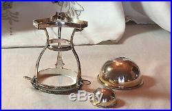 Sterling Silver Lion Master Salt Dish by Ubaldo Vitali for Tiffany