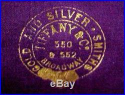 Sterling Silver SET 6 Butter Pats Salt Cellars Tiffany Case 19 Cent Gorham Hlmk