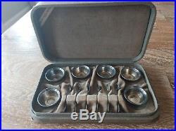 Sterling Silver Salt Cellar Set