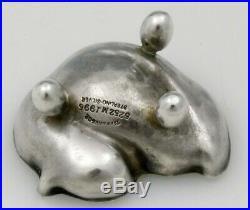 TIFFANY Sterling Open SALT Figural CHICK