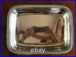 Thomas Fletcher Gardiner coin silver sterling serving dish bowl 1860 37 troy