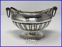Thomas Hammersley 18th Century Coin Silver Open Salt Cellar New York 1756-69