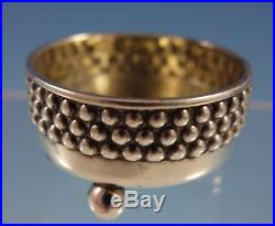 Tiffany & Co. Sterling Silver Salt Dip Beaded with Ball Feet #3403/6151 (#1931)