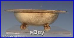Tiffany & Co. Sterling Silver Salt Dip Pierced with 4 Ball Feet (#0662)
