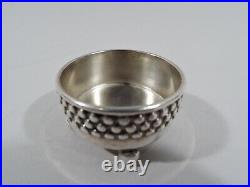 Tiffany Open Salts 3403 Antique Pair American Sterling Silver 1873/91