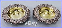 Tiffany & co. Sterling silver OPEN SALT CELLARS 1854-1869