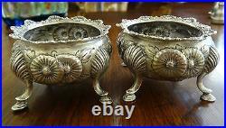 Two (2) Matching Gorham 2200 Sterling Silver Salt Cellars