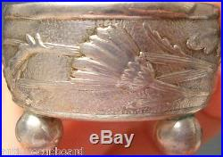 Vine by Tiffany & Co. Sterling Silver Salt Dip withGw Interior & Daisy Motif #0688