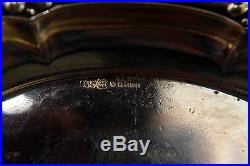 Vintage Albert Bodemer, 800 Silver Signed Swan Salt Pepper Cellar With Tray