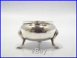 Vintage Tiffany & Co. England Sterling Silver Open Salt Cellar, London 1924