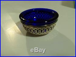 Vintage Early 1900 S Webster Sterling Silver And Dark