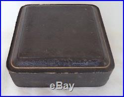 Walker & Hall Antique 1904 Solid / Sterling Silver Condiment / Salt Cellar Set